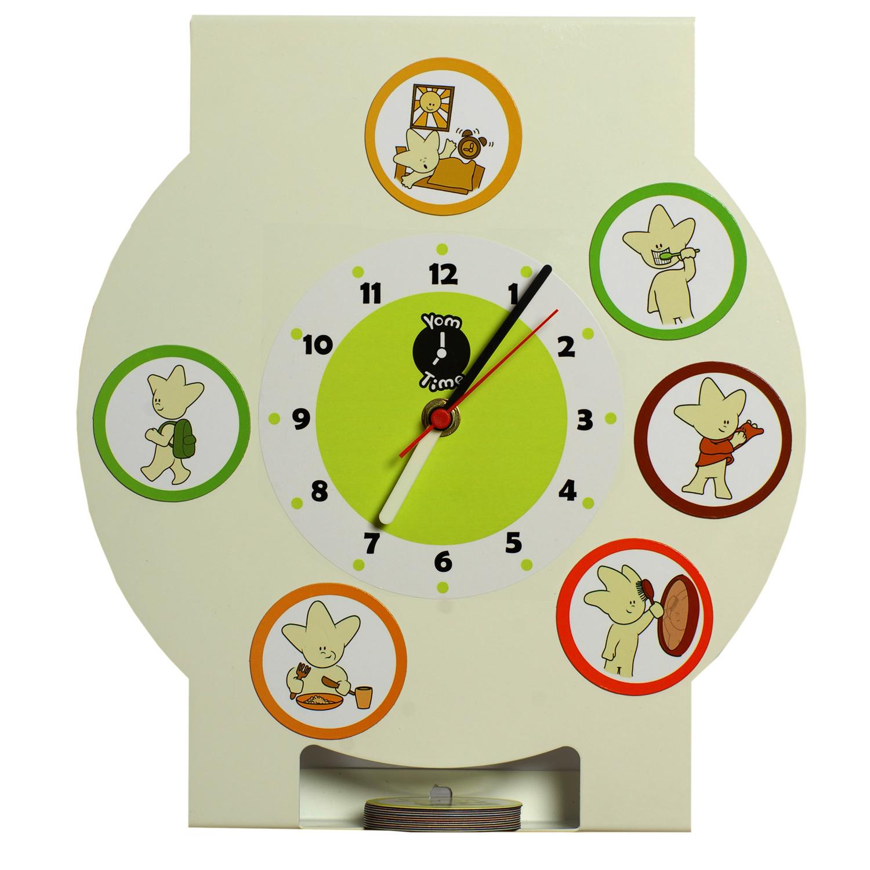 Часы в картинках распорядок дня ребенка