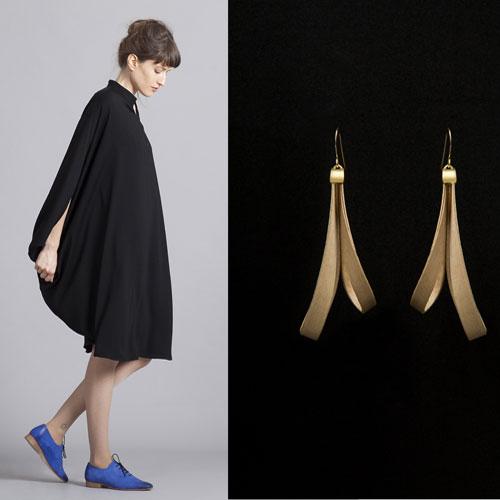 טובים השניים, מאוד. עגילים של אזיקאל, שמלה של טו-טון