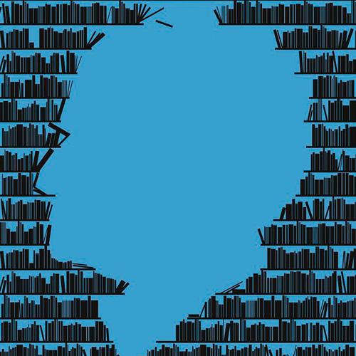 """הגידו כן לספריה של הזקן. מתוך תערוכת """"40 שנה לבית בן גוריון"""" (עבודה: מיכל ודקל)"""