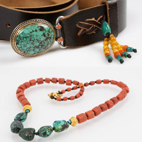 תכשיטים לאווירה צבעונית. אומן גלריה