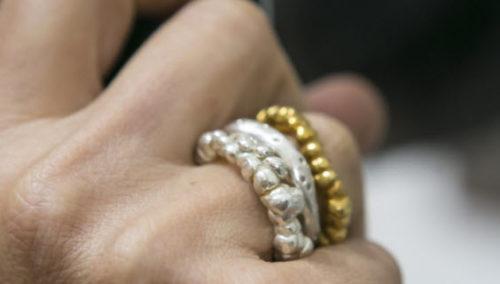 טבעות בהשראת פופקורן של בוני. לעוד - היכנסו לחנות Bonnina Art Jewelry