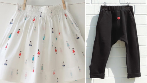 המכנסיים הכי להשתוללות שלנו; החצאית הכי למסגר שלנו. Petit Wild