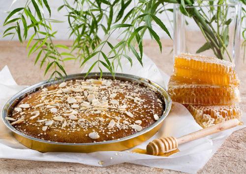 """בסבוסה די. עוגת בסבוסה, מתוך קולקציית החג של """"ביסקוטי"""" (צילום: בועז לביא)"""