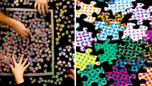 הייאוש נעשה יותר מייאש. Clemens Habicht Colour Puzzles