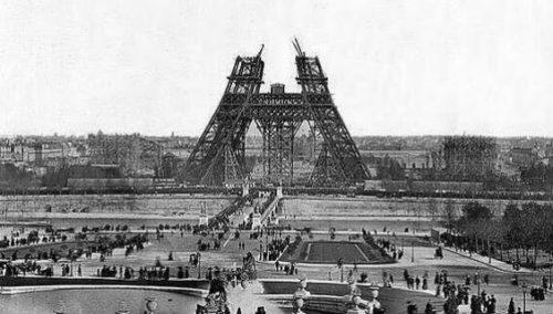 השמיים שלפני האייפל. פריז, שנות השמונים של המאה ה-19