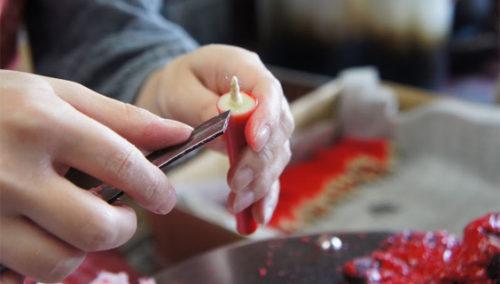 הכי תרפייה בעיסוק, אבר. נרות בעבודת יד מסורתית, TAKAZAWA