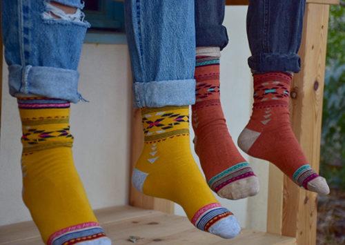 """כמה יפה, ככה מפה. """"גרביים של פעם"""""""