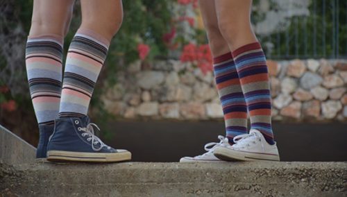 """מחזירים את הגרוב לגליל. """"גרביים של פעם"""""""