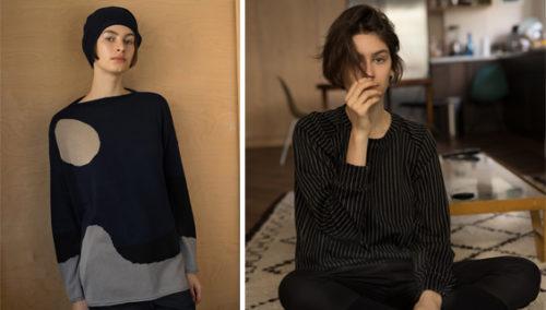 המדים הקבועים שלנו. סווטשירטים וסוודרים של KARIN A (צילומים: דודי חסון)