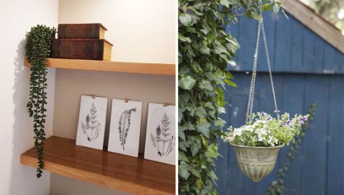 """ט""""ו בשבטינג. מימין: גביע מתכת של """"יזרעאלה""""; משמאל: עציץ נשפך, """"עד עיצובים"""""""