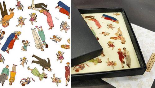 לאכול אותן. דף שוקולד לבן עם איורים מקוריים של בתיה קולטון ורותו מודן, איקה שוקולד