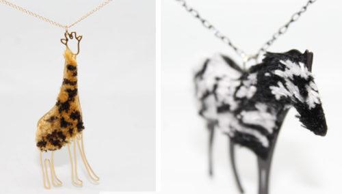 הספארי של סיגל. תכשיטי החיות של OMA DESIGN