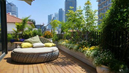 גן עדן על הגג. קיץ מושלם בחסות אורית פרי (צילומים: יונתן פרי)