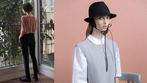 את הכי יפה כשסייל לך. כובע לבד פדורה עם כיסוי אזניים, ג'סטין; ג'ינס סקיני שחור, קארין איי