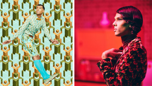 להתלבש כמו בקליפ של סטרומאה. מתוך Tous les Mêmes; משמאל: Papaoutai