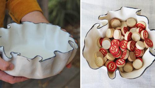 בין השימושי לפיסולי. תבניות מלמלה של Boutique Ceramics