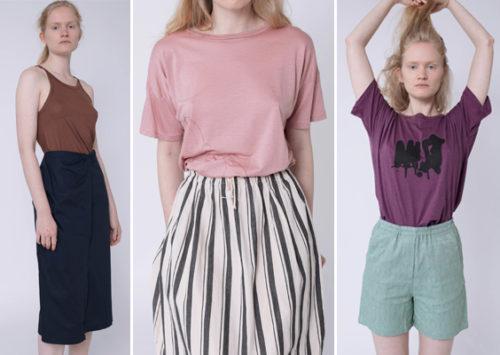 הקיץ של קארין. טי שירטס, חצאיות, מכנסונים, גופיות והרבה שיק נינוח; KARIN A