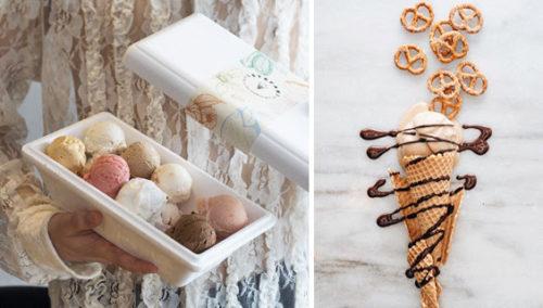 לק מווינה. גלידת פרעצל; פלוס מגוון טעמי שטפן לדרך (צילום שמאל: אנטולי מיכאלו)