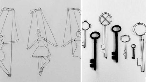 ההבדל הדק. בין נוקשות לעדינות החומר, בין רישום תלת-מימדי לציור מפוסל