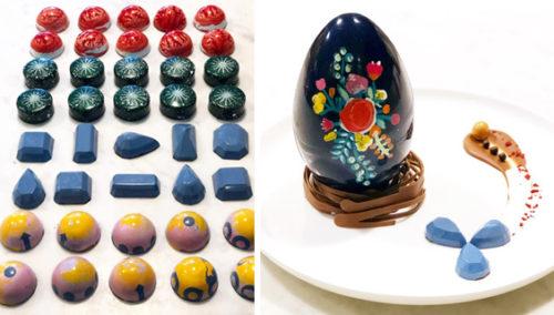 הולכת על ביצים. ביצת הפתעה ופרלינים במגוון צורות וטעמים, של אלין שלם
