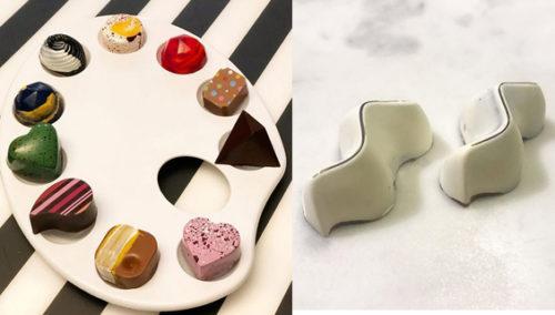 יצירות מופת משוקולד. הפרלינים היפהפיים בעבודת יד של אלין שלם