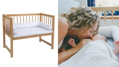 """בוקר טוב אליהו. לינה רצופה יותר עם עריסה מתחברת למיטת ההורים, """"מיטחברת"""""""