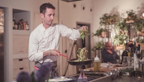 """מטבח פתוח לאורך כל האירוע. """"קופיולה אירועים"""" (צילומים: מורן מעיין)"""