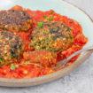 """מי שמסמס בערב ראשון - אוכל טבעוני במוצאי שני. המטבח של מאשה (צילום: אולגה טוכשר, """"המרכיב הסודי"""")"""