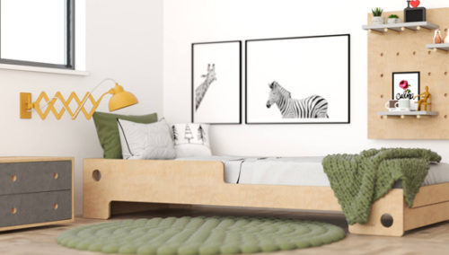 """שובליקו, מהר למיטה המרהיבה הזאת ולישון! מיטת """"אמה"""", בעיצוב מקורי של RANCO"""