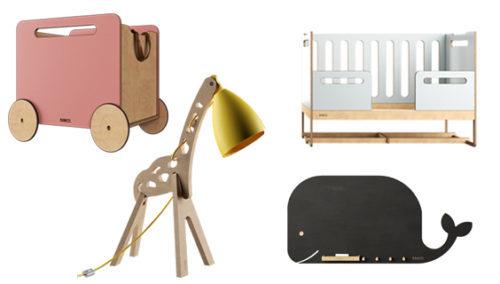 מהלול ועד האוניברסיטה. פריטים ורהיטי ילדים מעץ, בעיצוב מקורי של RANCO