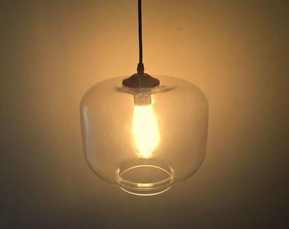 מנורה תלויה גוף זכוכית ייחודי בסגנון מודרני (35)