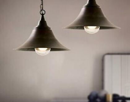 מנורה תלויה אהיל מתכתי שחור בסגנון וינטאג' כפרי (45)