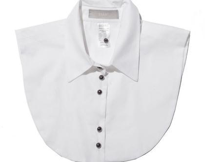 """צווארון """"עדי""""   חולצה לבנה מכופתרת   בגדים לעורכות דין   חולצה לבנה   חולצה לבנה מכופתרת   מתנה  """