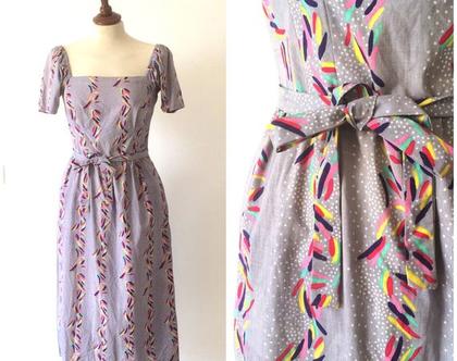 שמלה אתא| שמלת וינטג'| שמלת כותנה |שמלה עם שארוולים | שמלה מחמיאה| שמלה לאישה| שמלה מפעם