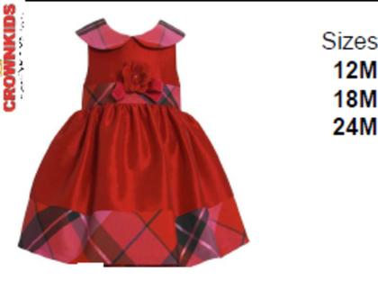 בייבי בוני שמלה אדומה