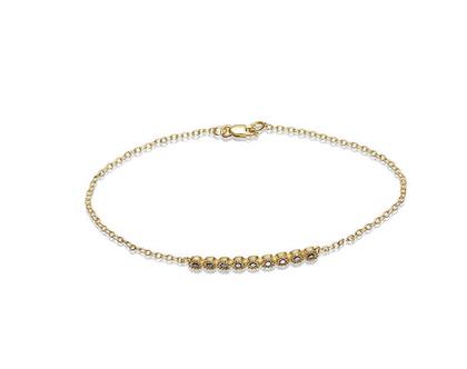 צמיד זהב ויהלומים, צמיד זהב, צמיד יהלומים, צמיד יהלומים שחורים