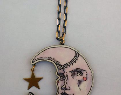 שרשרת ירח- שרשרת ארוכה - שרשרת מיוחדת