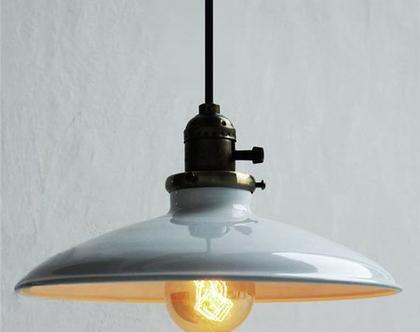 מנורת וינטג'/תעשייתית תלויה בסגנון של פעם. ( מס 54)