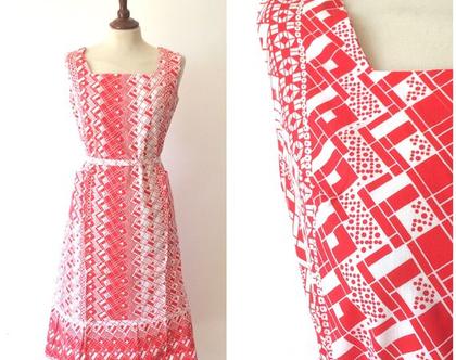 שמלת וינטג׳ | שמלה אדום לבן | שמלה נשית | שמלה מיוחדת | שמלה לנשים | שמלות
