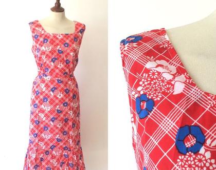 שמלת וינטג׳ | שמלה פרחונית | שמלת מידי | שמלה אדומה | שמלה לנשים | שמלה מיוחדת