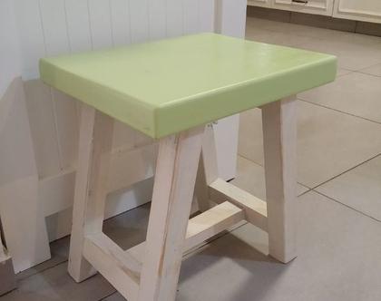 ספסל לאמבטיה/שרפרף לאמבטיה/ספסל לחצר /ספסל מעץ ממוחזר דגם רעננה
