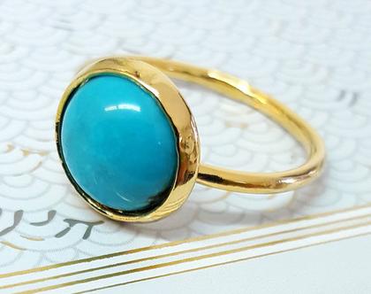 טבעת טורקיז , טבעת זהב,טבעת טורקיז, טבעת אבני חן, טבעות אבנים, טבעות זהב, טבעת קלאסית, טבעת מתנה,תכשיטים מעוצבים,אבני טורקיז,טבעת אושר