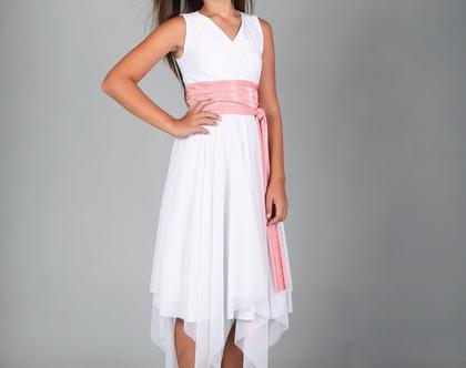 שמלת מעטפת לבת מצווה של המעצבת שירן סבוראי