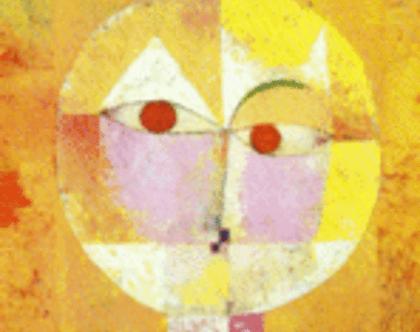 גלויה עם אפקט אנימציה של פול קליי