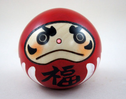 בובת עץ | בובה קטנה | יפנית | בובת מזל | DARUMA | KOKESHI