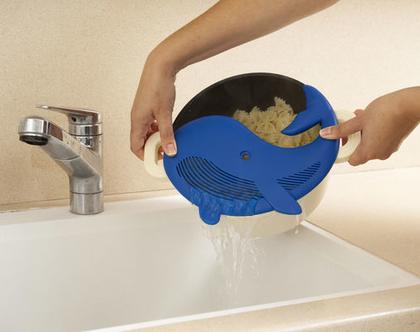 מסננת לפסטה, מסננת פלסטיק לסיר, מתנה לאוהבי חיות, מתנה למטבח