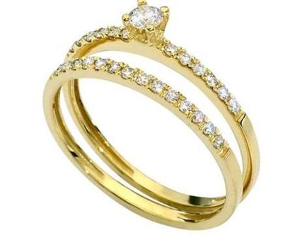 טבעת 0.40 קראט   טבעת אירוסין   טבעת זהב   טבעת יהלומים צמודים   יהלום   משובצת יהלום   טבעת זהב צהוב   טבעת יוקרתית   טבעת מעוצבת  