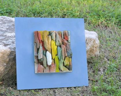 תמונה צבעונית | עיצוב בעץ | תמונת עץ | אמנות מקורית | עיצוב הבית | עיצוב מיוחד | מתנה לבית | רעיון למתנה | רעיונות לעיצוב |