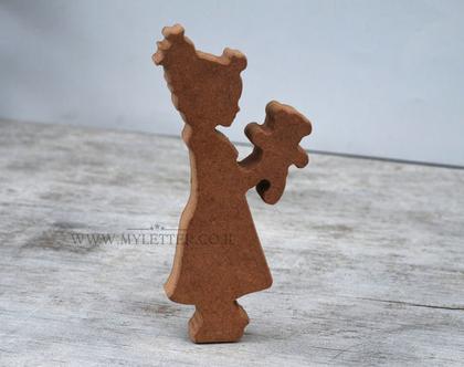 דמויות ליצירה   דמות מעץ לצביעה