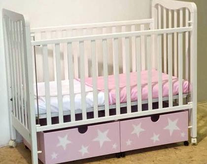 ארגזי אחסון למיטת תינוק